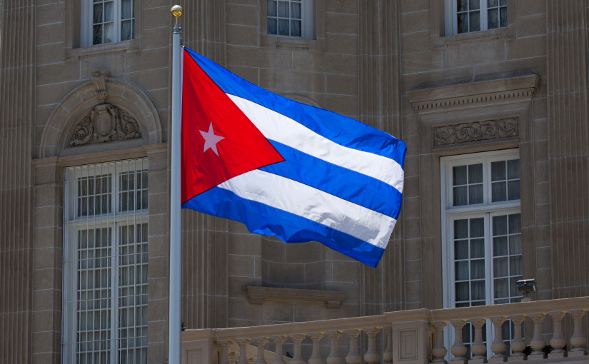 Cuban flag flies again in D.C.